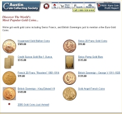 Austin Coin Collecting Society Page