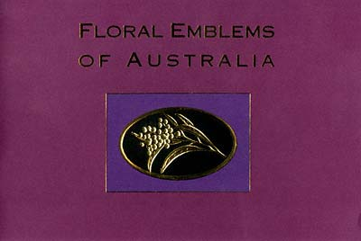 Australia Floral Emblems Proof Series Booklet