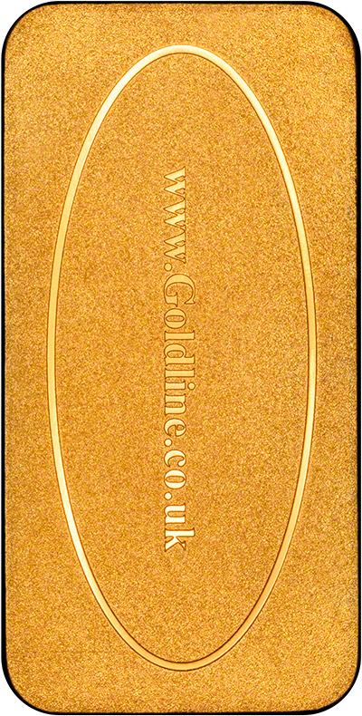 Reverse of Baird & Co 250g Gold Bar