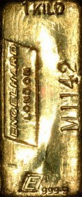 Englehard London 1 Kilo Gold Bar