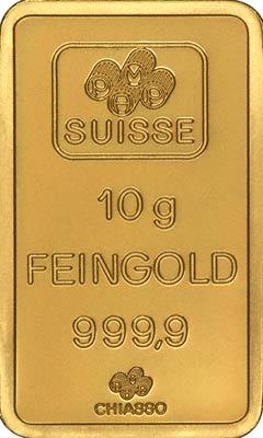 PAMP (P.A.M.P.) Suisse Gold Bars