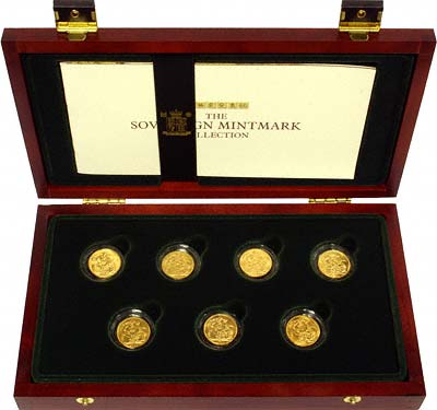 Royal Mint Sovereign Mintmark Collection