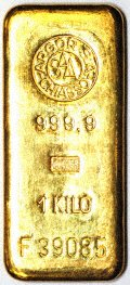 Argor Chiasso 1 Kilo Gold Bar