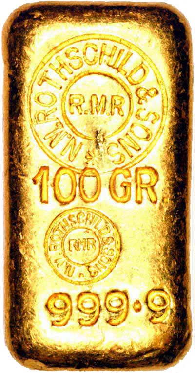Rothschild Gold Bars
