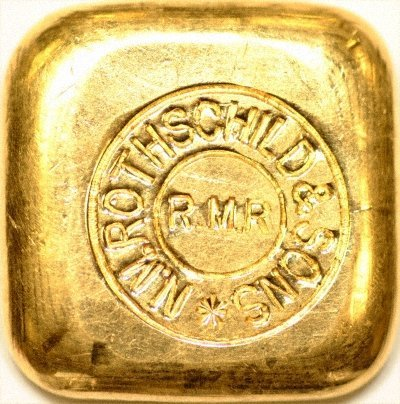 Rothschilds 50 Gram Gold Bar