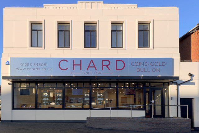Chard Harrowside Showroom
