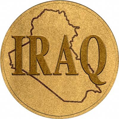 Iraqi Gold Coins Iraq