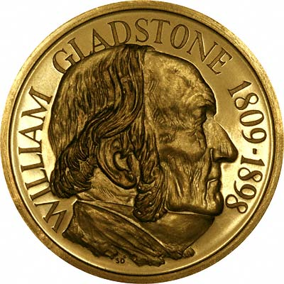 William Gladstone Gold Medallion