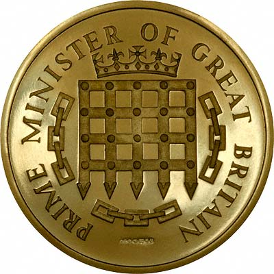 Reverse of 1966 British Prime Ministers Gold Medal