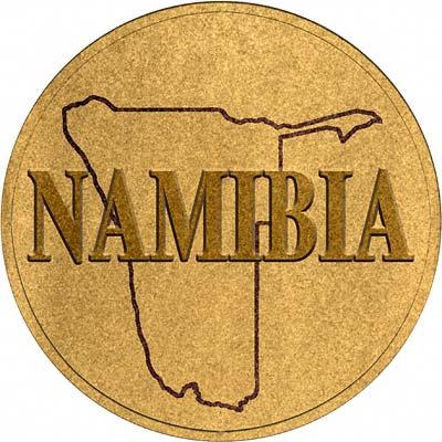 Namibian Gold Coins Namibia