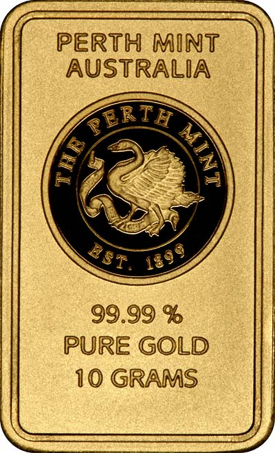 Perth Mint Oriana 10 Gram Gold Bars Chards Tax Free Gold