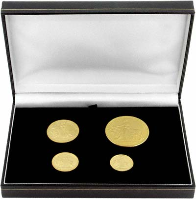 Set of 4 Medallions in Presentation Box