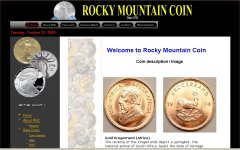 Rocky Mountain Coin Krugerrands Page