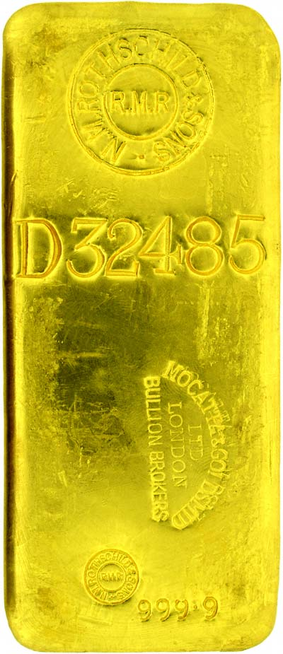 Mocatta Goldsmid & Rothschild Kilo Gold Bar