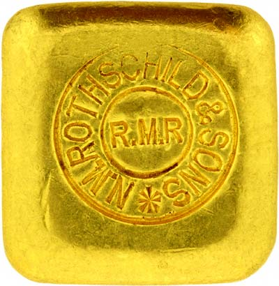 Rothschild 50 Gram Gold Bar