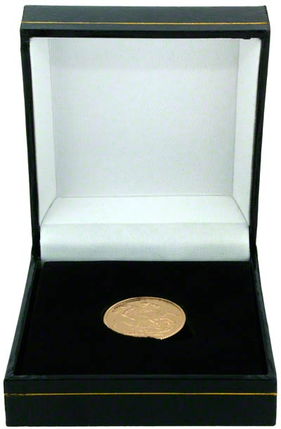 Leatherette Box for Gold Sovereign
