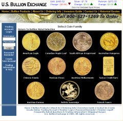 US Bullion Exchange Gold Coins Page