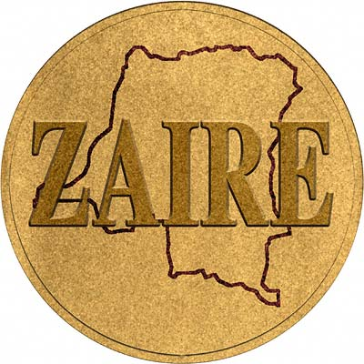 Zaire Gold Coins